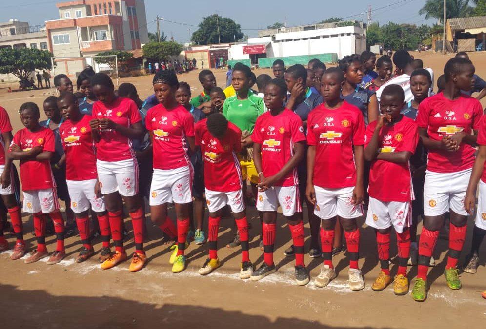 Tournoi de football sous le thème «Les enfants au service de la Paix et de l'environnement»